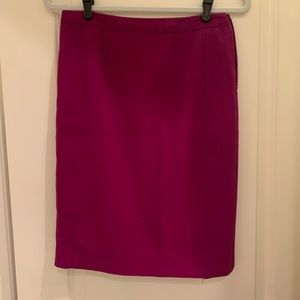 The Limited Fuchsia Comfy Pencil Skirt